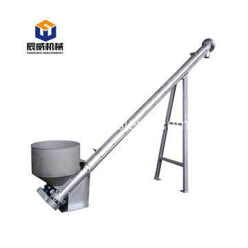 automatic auger spiral screw conveyor for powder